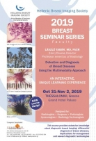 2019 BREAST SEMINAR SERIES Detection and Diagnosis of Breast Diseases Using the Multimodality Approach
